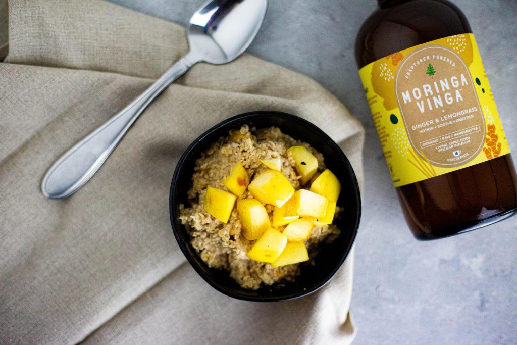 Moringa Vinga Apple Cider Oatmeal