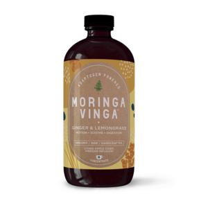 Ginger and Lemongrass Moringa Infusion