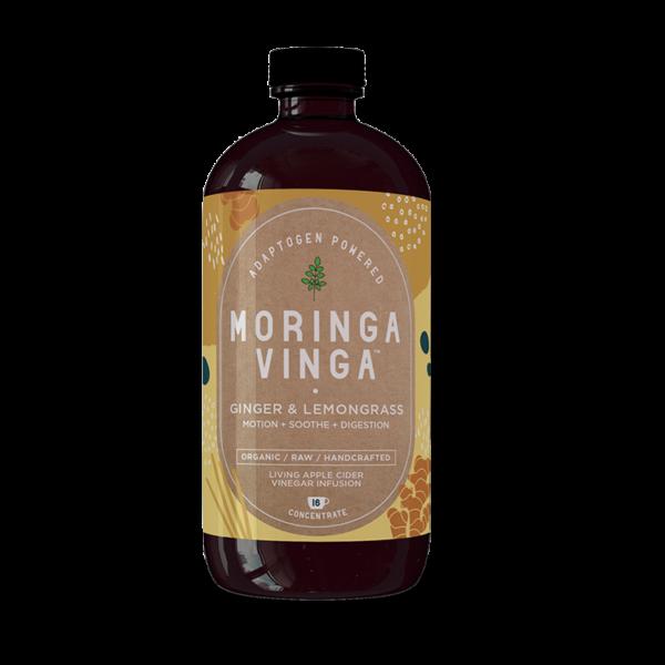 Ginger and Lemongrass Moringa Infusion
